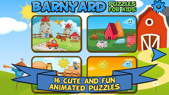 Barnyard Puzzles For Kids- screenshot thumbnail