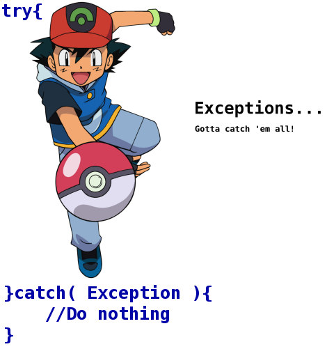 Pokemon Exceptions