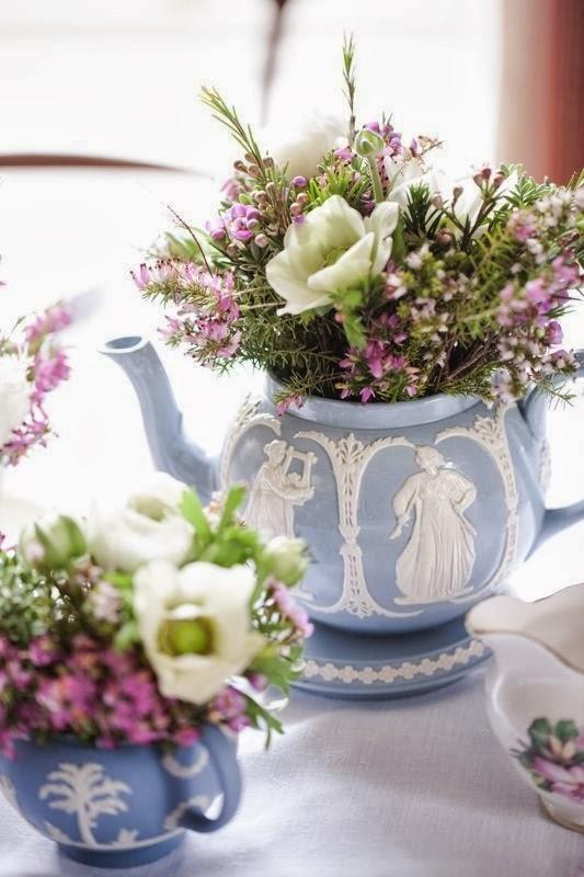Arreglos Florales En Tazas Inspiración Romántica Para Tu Casa