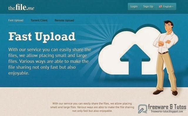 TheFile.me : un nouveau service de partage de fichiers