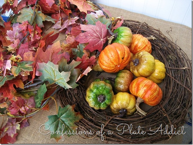 CONFESSIONS OF A PLATE ADDICT Pottery Barn Inspired Fall Wreath supplies