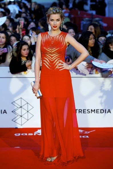 Ana de Armas 17th Malaga Film Festival 2014 Closing Day