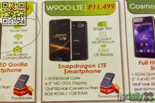 Cherry Mobile W900 LTE Leak