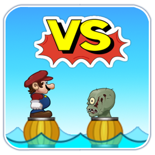 Zombie Vs Mario LOGO-APP點子