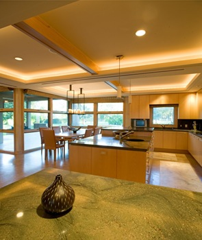 Diseño de cocina con isla