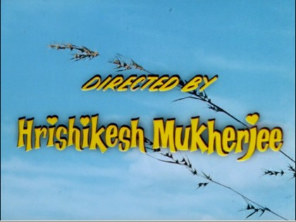 Directed by Hrishiskesh Mukherjee