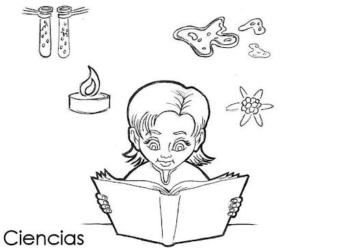 Dibujos De Ciencias Naturales Para Colorear Caratulas Imagui