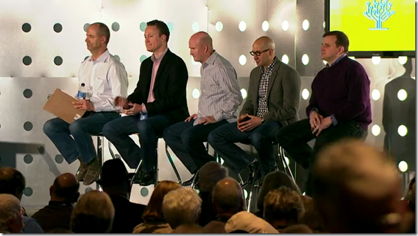 Tim Sullivan在2012年rootstech会议上掌握了Ancestry.com面板