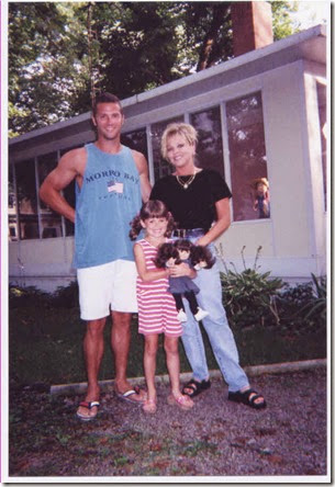 Phil, Holly, Lindsey 1998