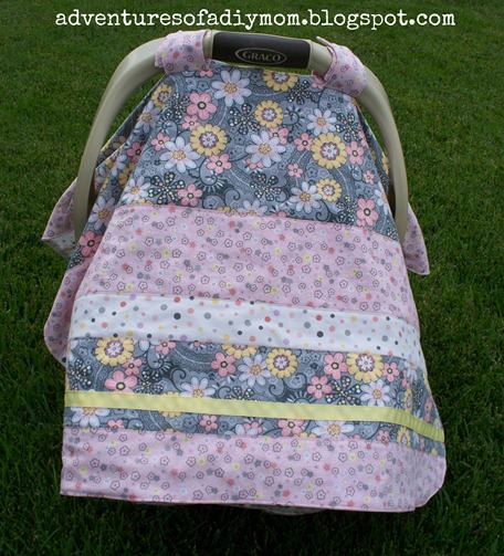 How to make a Carseat Cover (1)