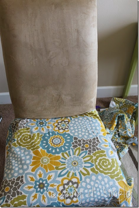 Strange Diy Furniture Idea 5 Accent Chair Redo Keeping It Simple Bralicious Painted Fabric Chair Ideas Braliciousco