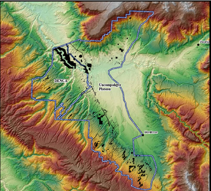 Denca Target Area - Technological Debris Sites - Colorado