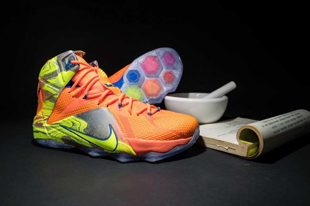 best service 406bc 3b964 Another Look at 8220Six Meridians8221 Nike LeBron 12 ...