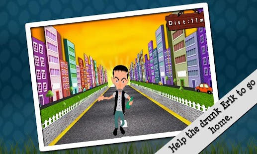 Crazy Drunk Man: Running Game - screenshot thumbnail