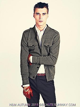 H&M Autumn 2011 Singapore Men Jacket Shirt Pants