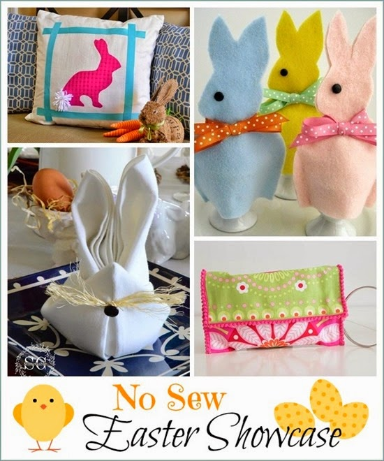 No Sew Easter Showcase collage
