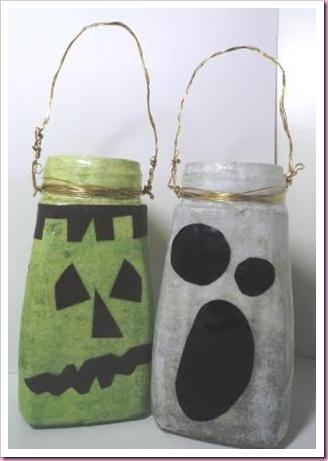 Halloween Jar lanterns 2011