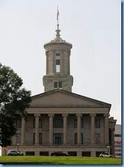 9498 Nashville, Tennessee - Discover Nashville Tour - downtown Nashville - the State Capitol Building