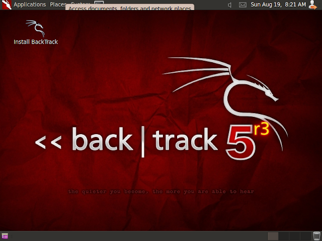 Installing backtrack 5 R3