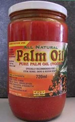 Olio di palma grezzo e puro (in commercio)