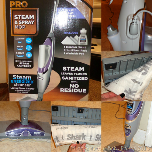 Holiday Gift Guide Shark Pro Steam Amp Spray Mop Review