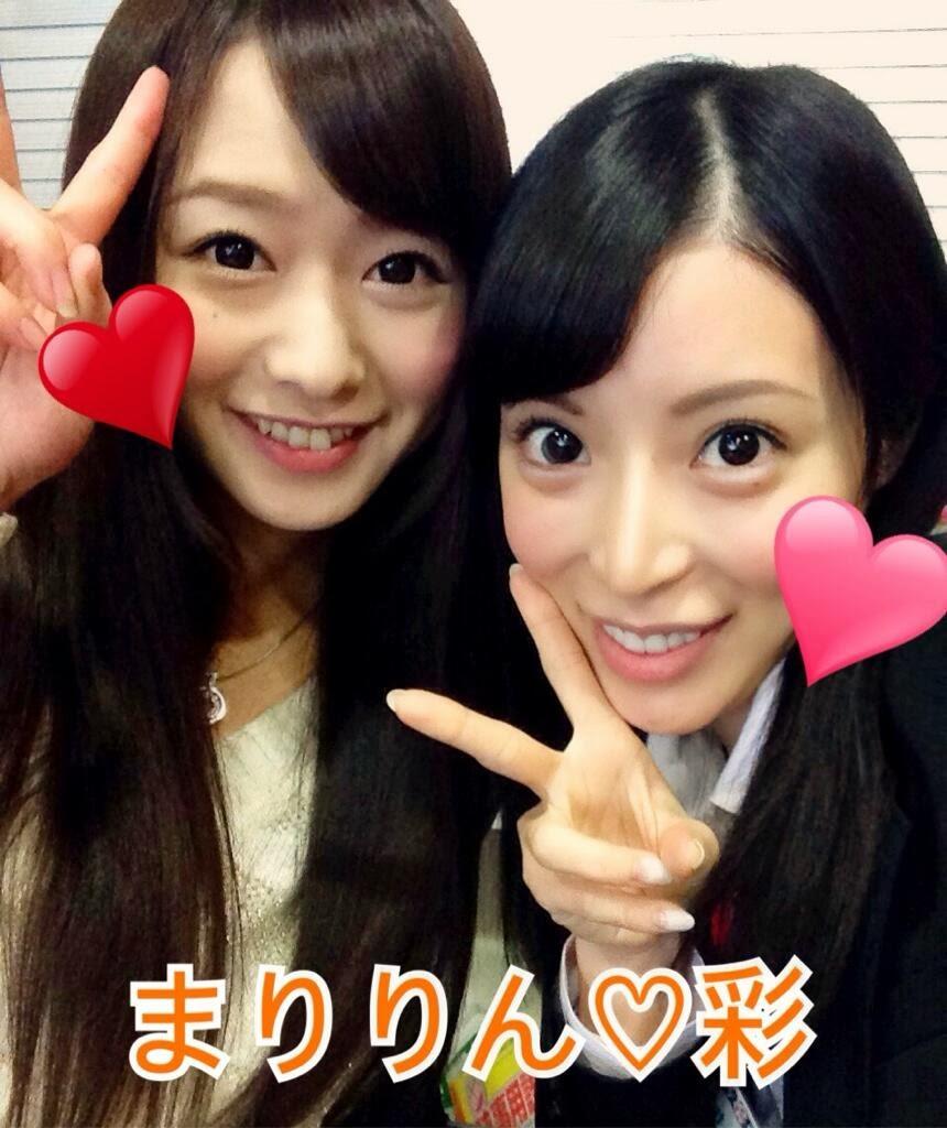 右边是桜井彩,左边是谁?