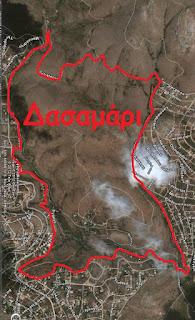 Δασαμάρι (χάρτης)