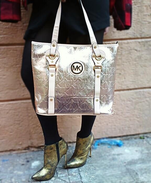 Micheal Kors Handbag, River Island Boots