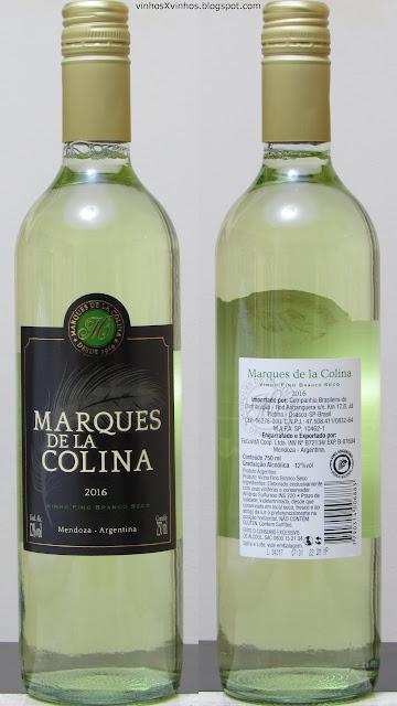 vinho Marques de la colina