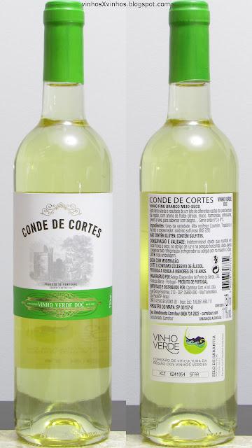 Vinho Conde de Cortes