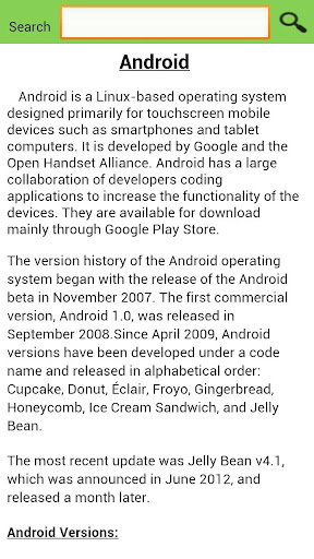 Update for Android (info) - Software up to date 2.0.127.1 screenshots 3