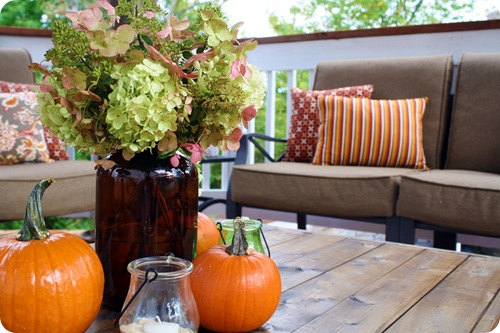 Table Decorations For Deck Design Ideas