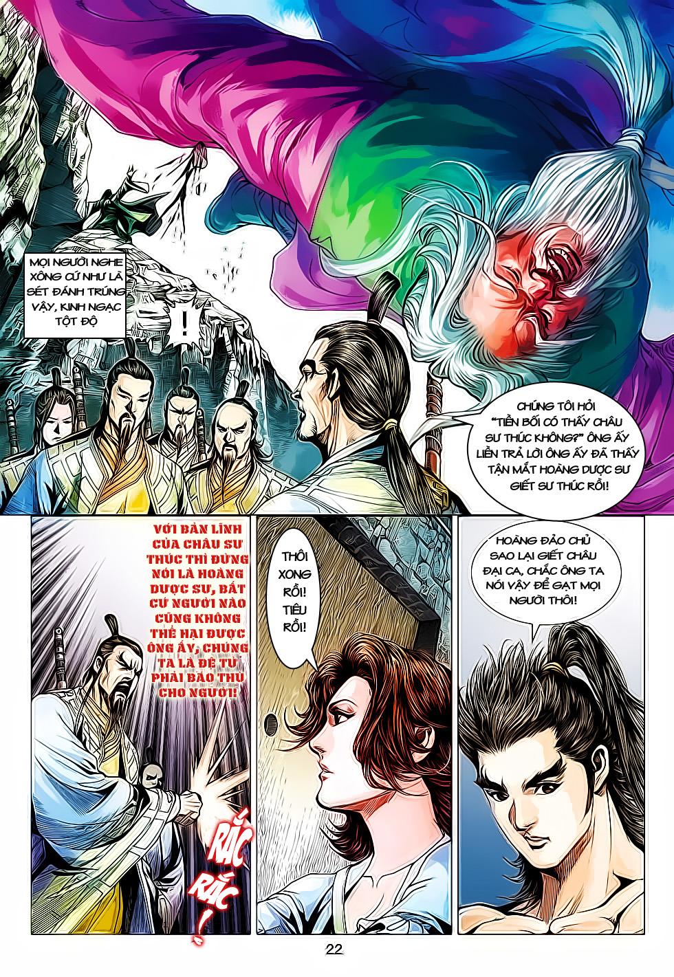 Anh Hùng Xạ Điêu anh hùng xạ đêu chap 61: thất tử chiến thiết thi trang 22