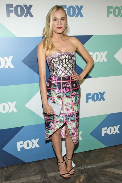 Diane Kruger Fox Star Party Arrivals