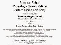 Seminar Dahsyatnya Ternak Kalkun