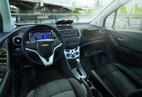 Chevrolet Tracker 20132014 Interior