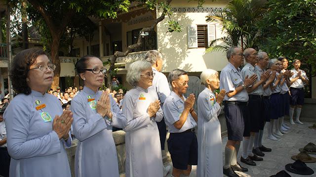DSC06301 Lễ Hiệp kỵ   Lễ Huý Nhật Cư sĩ Sáng lập viên GĐPT Việt Nam   Tâm Minh Lê Đình Thám