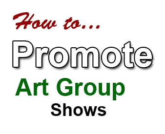 promote art group shows