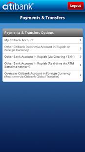 Citibank Indonesia - screenshot thumbnail
