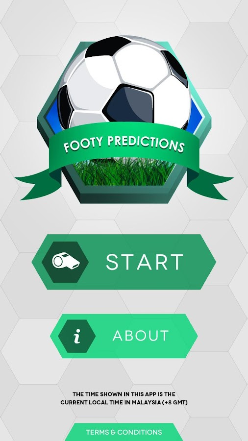 Footy Predictions - screenshot