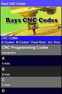 Rays cnc codes apps on google play screenshot image fandeluxe Gallery