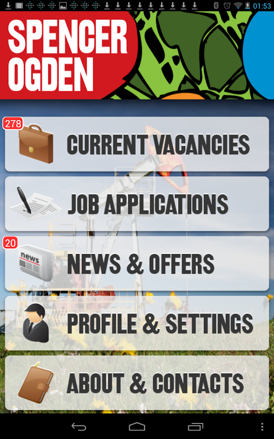 Spencer Ogden Jobs- screenshot