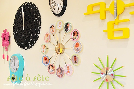 Sweets Table - Clock Wall 12 meses 5