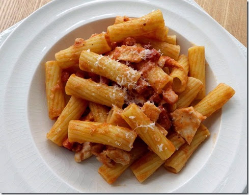 Pasta With Chicken and Fennel Ketchup