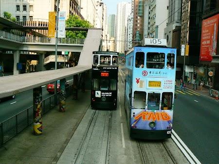 Cu tramvaiul prin Hong Kong