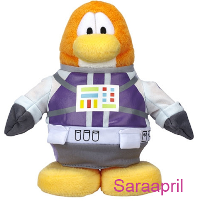 Club Penguin 6.5 Inch Plush – Astronaut :)