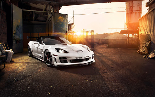 Chevrolet Corvette C6 ZR1 Triple X