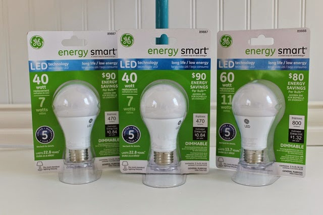 energy smart GE LED light bulbs at Target #LEDSavings #CollectiveBias