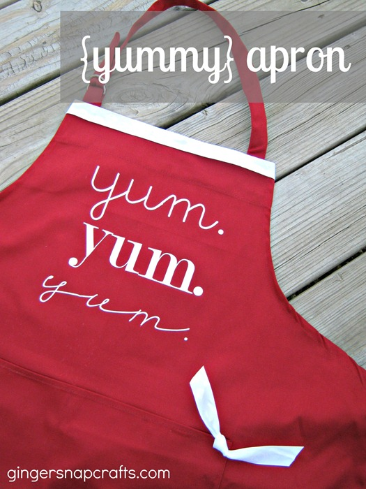 Ginger Snap Crafts Yummy Apron Mother S Day Gift Idea