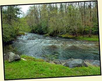 10 - Approaching Elkmont - Fly Fisherman